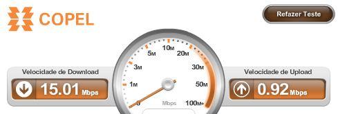 VELOCÍMETRO - Teste de Velocidade - Internet Banda Larga